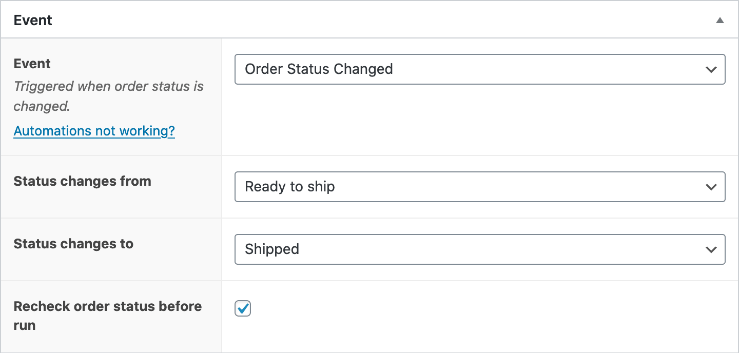 WooCommerce Custom Order Statuses Support