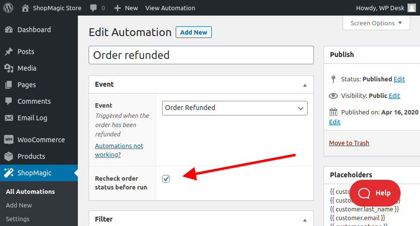 WooCommerce Order Refund Email