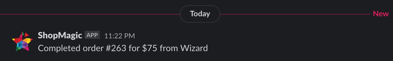WooCommerce Slack Notification