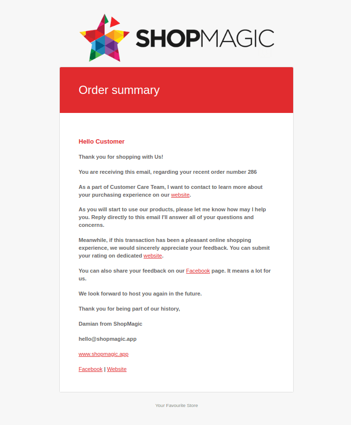 WooCommerce conditional email