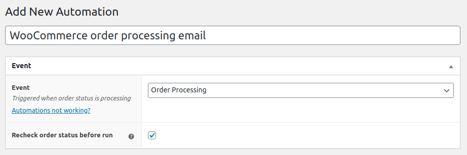 ShopMagic Triggered Email