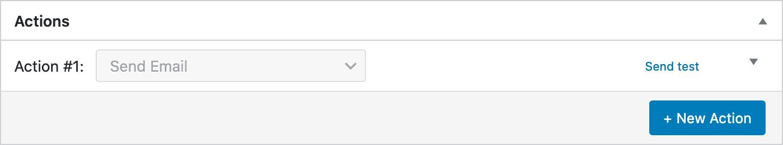 ShopMagic Send Test Email Link