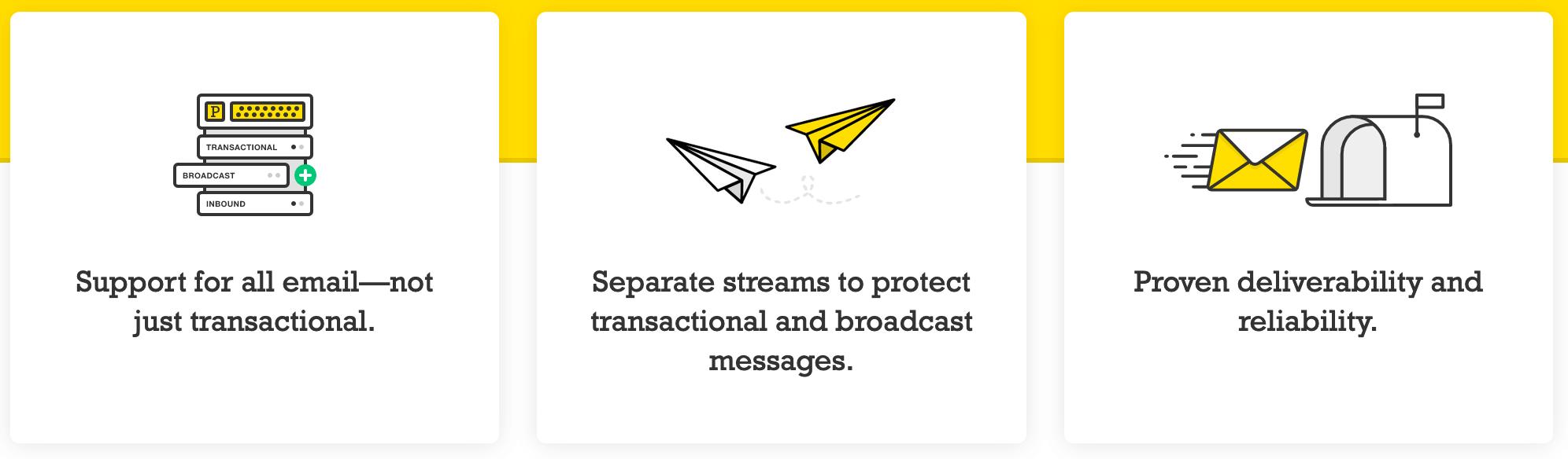 Postmark Message Streams