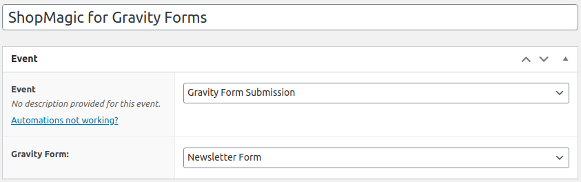 ShopMagic for Gravity Forms